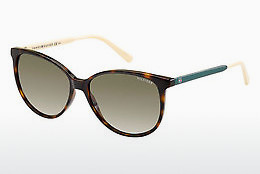 Gafas de visión Tommy Hilfiger TH 1261/S 4LV/HA - Marrones, Havanna