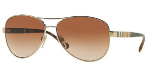 Burberry BE3080 114513 BROWN GRADIENTLIGHT GOLD