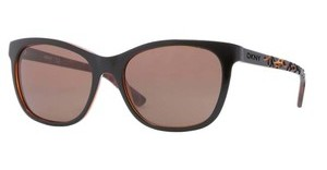 DKNY DY4115 363973 BROWNTOP BLACK ON TR HAVANA