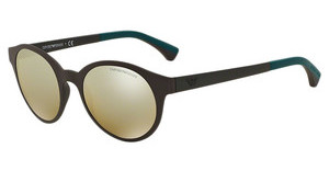 Emporio Armani EA4045 53425A LIGHT BROWN MIRROR GOLDMATTE BROWN