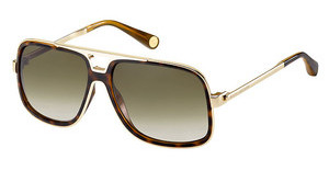 Marc Jacobs MJ 513/S 0OF/DB BROWNGREY SFGOLD HVNA (BROWNGREY SF)