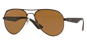 Ray-Ban RB3523 012/83 POLAR BROWNMATTE BROWN
