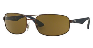 Ray-Ban RB3527 012/73 BROWNMATTE DARK BROWN