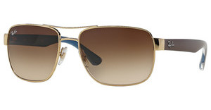 Ray-Ban RB3530 001/13 BROWN GRADIENTGOLD