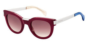 Tommy Hilfiger TH 1379/S QEI/XK BURGUNDY SFBRGND PLD