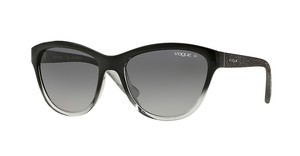 Vogue VO2993S 1880T3 POLAR GREY GRADIENTTOP BLACK GRAD GREY TRANSP