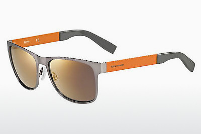 Gafas de visión Boss Orange BO 0197/S 7ZL/CT - Plateadas, Ruthenium