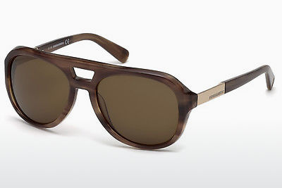 Gafas de visión Dsquared DQ0237 47E - Marrones, Bright
