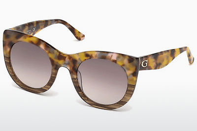 Gafas de visión Guess GU7485 53F - Havanna, Yellow, Blond, Brown