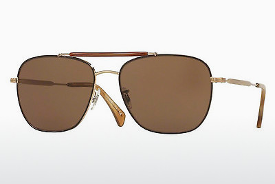 Gafas de visión Paul Smith ROARK (PM4079S 524573) - Marrones, Oro