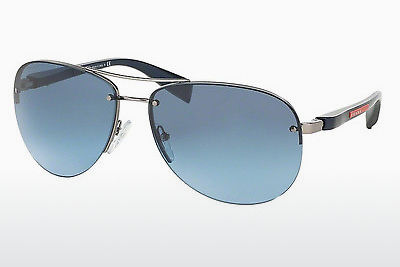 Gafas de visión Prada Sport PS 56MS (65) (PS 56MS 5AS5I1) - Plateadas, Pewter