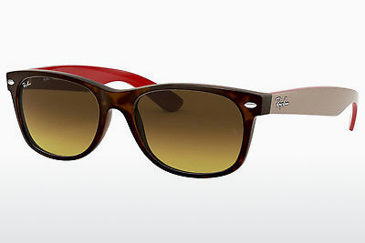 Gafas de visión Ray-Ban NEW WAYFARER (RB2132 618185) - Marrones, Havanna