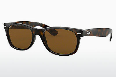 Gafas de visión Ray-Ban NEW WAYFARER (RB2132 902/57) - Marrones, Havanna