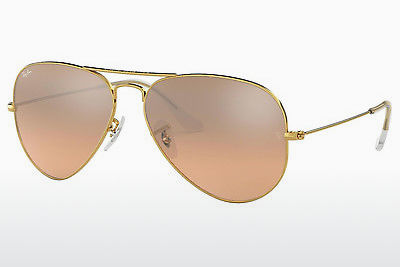 Gafas de visión Ray-Ban AVIATOR LARGE METAL (RB3025 001/3E) - Oro