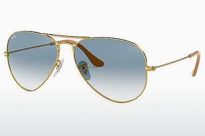Gafas de visión Ray-Ban AVIATOR LARGE METAL (RB3025 001/3F) - Oro