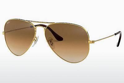 Gafas de visión Ray-Ban AVIATOR LARGE METAL (RB3025 001/51) - Oro
