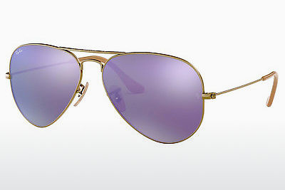Gafas de visión Ray-Ban AVIATOR LARGE METAL (RB3025 167/1M) - Marrones, Bronce