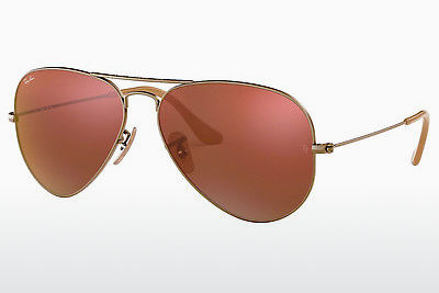Gafas de visión Ray-Ban AVIATOR LARGE METAL (RB3025 167/2K) - Marrones, Bronce