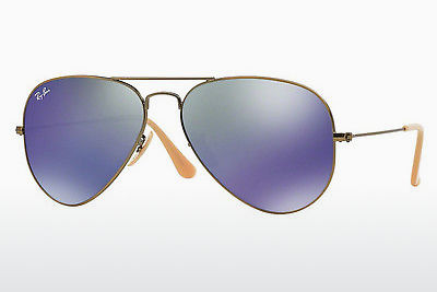 Gafas de visión Ray-Ban AVIATOR LARGE METAL (RB3025 167/68) - Marrones, Bronce