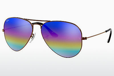Gafas de visión Ray-Ban AVIATOR LARGE METAL (RB3025 9019C2) - Grises, Marrones