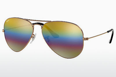 Gafas de visión Ray-Ban AVIATOR LARGE METAL (RB3025 9020C4) - Grises, Marrones