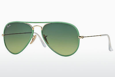 Gafas de visión Ray-Ban AVIATOR FULL COLOR (RB3025JM 001/3M) - Oro