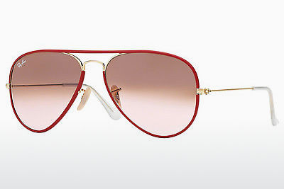 Gafas de visión Ray-Ban AVIATOR FULL COLOR (RB3025JM 001/X3) - Rojas