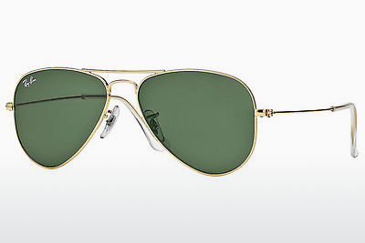 Gafas de visión Ray-Ban AVIATOR SMALL METAL (RB3044 L0207) - Oro