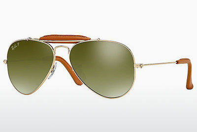 Gafas de visión Ray-Ban AVIATOR CRAFT (RB3422Q 001/M9) - Oro, Marrones