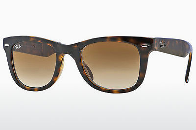Gafas de visión Ray-Ban FOLDING WAYFARER (RB4105 710/51) - Marrones, Havanna