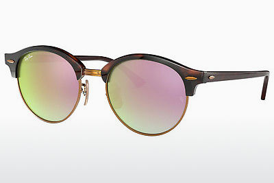 Gafas de visión Ray-Ban CLUBROUND (RB4246 990/7Y) - Marrones, Havanna