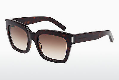 Gafas de visión Saint Laurent BOLD 1 004 - Marrones, Havanna