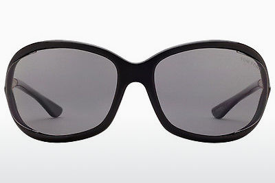Gafas de visión Tom Ford Jennifer (FT0008 01D) - Negras, Shiny