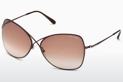 Gafas de visión Tom Ford Colette (FT0250 48F) - Marrones, Dark, Shiny
