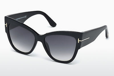 Gafas de visión Tom Ford Anoushka (FT0371 01B) - Negras, Shiny