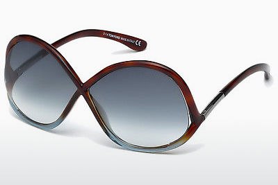 Gafas de visión Tom Ford Ivanna (FT0372 53W) - Havanna, Yellow, Blond, Brown