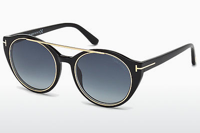 Gafas de visión Tom Ford Joan (FT0383 01W) - Negras, Shiny