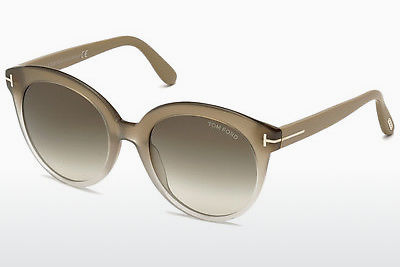 Gafas de visión Tom Ford Monica (FT0429 59B) - Concha, Beige, Brown