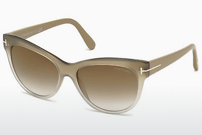 Gafas de visión Tom Ford Lily (FT0430 59G) - Concha, Beige, Brown