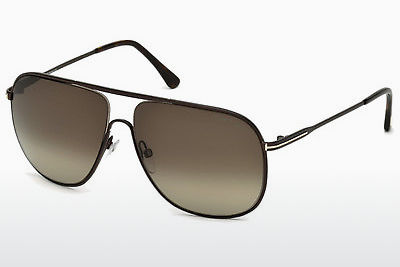 Gafas de visión Tom Ford Dominic (FT0451 49K) - Marrones, Dark, Matt
