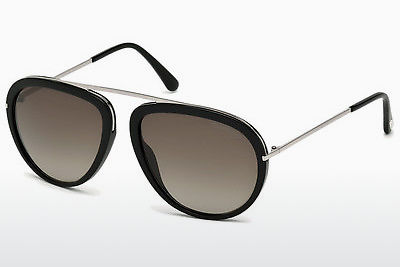 Gafas de visión Tom Ford Stacy (FT0452 01K) - Negras, Shiny