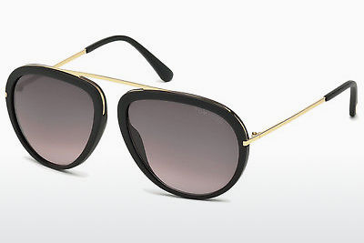Gafas de visión Tom Ford Stacy (FT0452 02T) - Negras, Matt