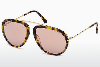 Gafas de visión Tom Ford Stacy (FT0452 53Z) - Havanna, Yellow, Blond