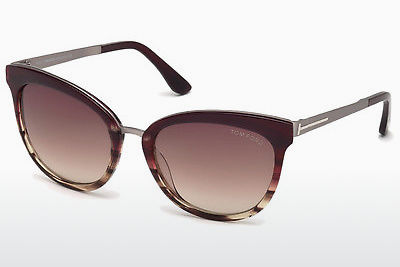 Gafas de visión Tom Ford FT0461 71F - Borgoña, Bordeaux