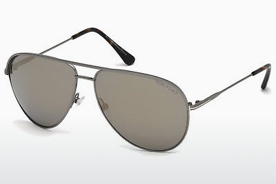 Gafas de visión Tom Ford Erin (FT0466 13C) - Grises, Dark, Matt