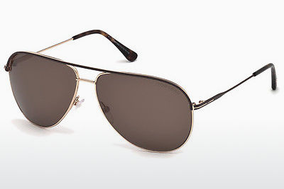 Gafas de visión Tom Ford Erin (FT0466 50J) - Marrones, Dark