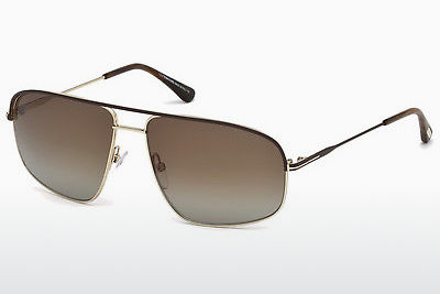 Gafas de visión Tom Ford Justin Navigator (FT0467 50H) - Marrones, Dark