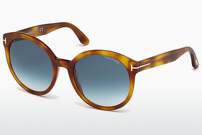 Gafas de visión Tom Ford Philippa (FT0503 53W) - Havanna, Yellow, Blond, Brown