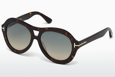 Gafas de visión Tom Ford Isla (FT0514 52W) - Marrones, Dark, Havana