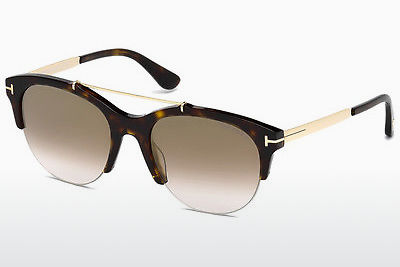 Gafas de visión Tom Ford Adrenne (FT0517 52G) - Marrones, Dark, Havana